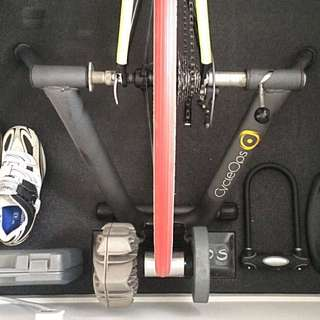 CycleOps Fluid 2 Trainer & Riser Block Only