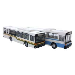 [N 1/150] Bus Set Fuji Heavy Industries 7E Twin Pack Set D [Tomytec] NEW
