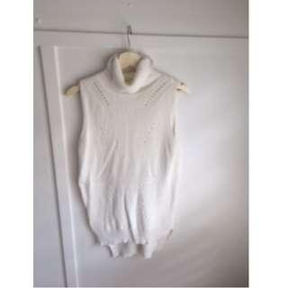 Cream/Ivory Turtleneck sweater - size 10-12