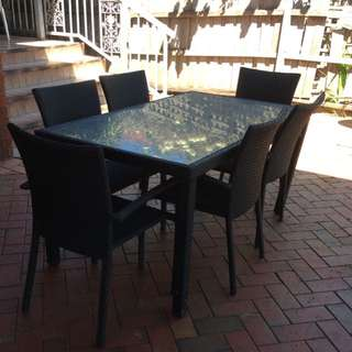 Outdoor Table Set.