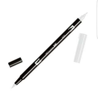 Tombow Dual Brush Pen Art Marker, N00 - Colorless Blender