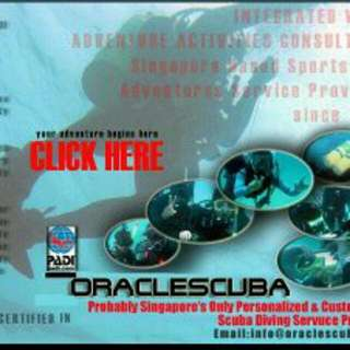 YEAR 2018 PADI SCUBA DIVING COURSES  OPEN FOR BOOKING