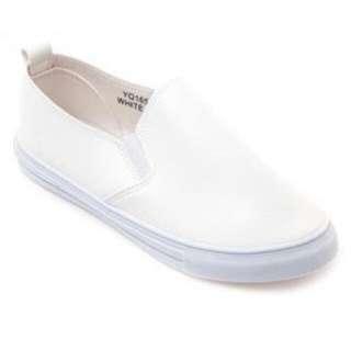 Mendrez White Slip On