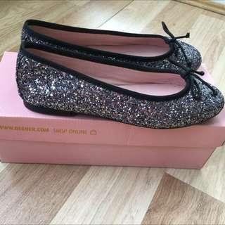 New Spanish Ballet Flats. Glitter. Size 37