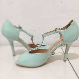 Mint Fioni Heels