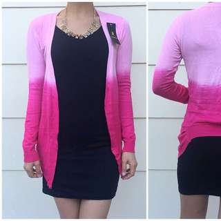Size 6-10 Pink Tiedye Cardigan