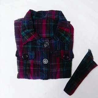 格子•顯瘦襯衫 NT$50