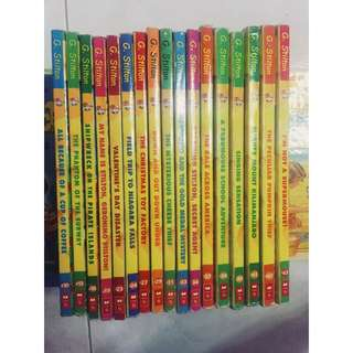 Geronimo Stilton Series Books