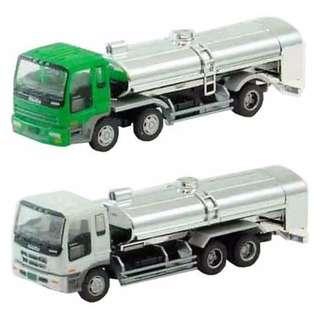 [N 1/150] Japanese Truck Set H2 Milk Transporter [Tomytec] NEW
