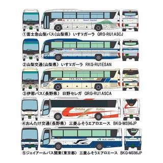 "[N 1/150] Japanese Bus Set B ""Chuo Kokusai"" [Tomytec] NEW"