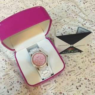 GOTO白色陶瓷手錶-全新
