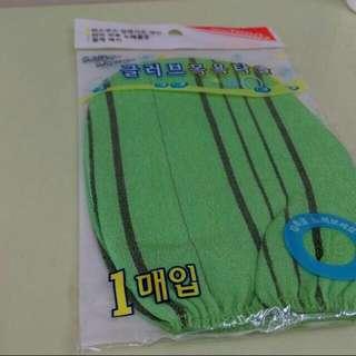 韓國去角質布