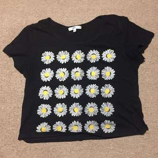 Small Daisy Crop Top