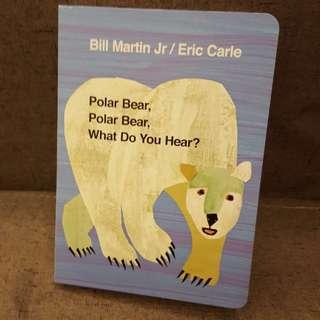 Book - Polar bear polar bear what do you hear (Hard cover)