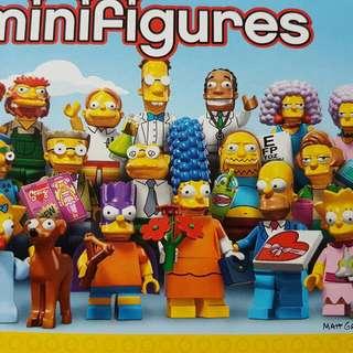 Lego The Simpson Minifigures Series (Entire Box)