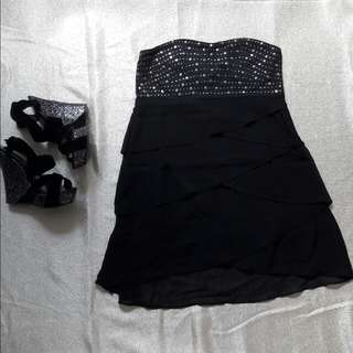 🌻REPRICED🌻 People Are People - Black Tube Party Dress