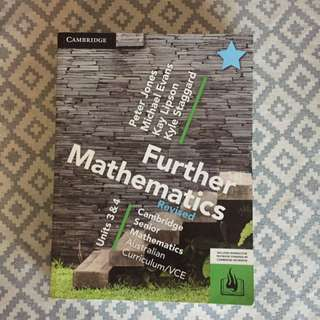 Further Mathematics (Revised) Cambridge Unit 3 & 4