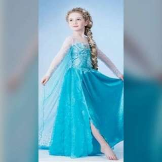 Disney Frozen Elsa Kids Costume Halloween Dress Up Events Performance Dnd Costume Celebration Birthday Party