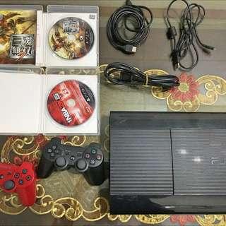 PS3主機 CECH-4007C-500g