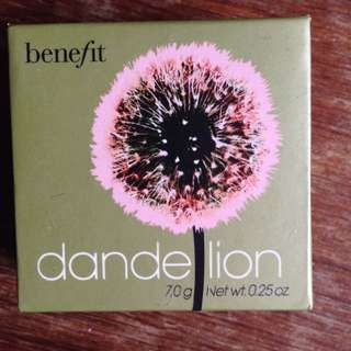 Benefit Dandelion Blusher (Full Sized)