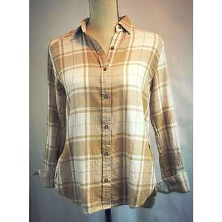 wilfred plaid shirt nwt