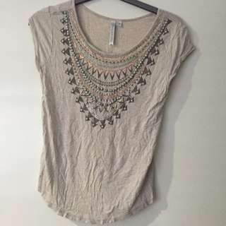 Forever New Bid detail Top - Size 8