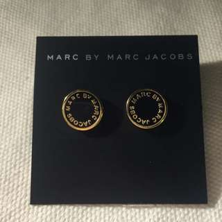 Marc By Marc Jacobs Button Earrings