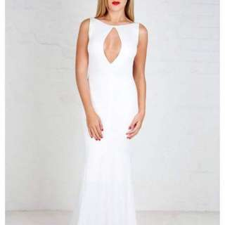 Zachary The Label Twist Neck Gown