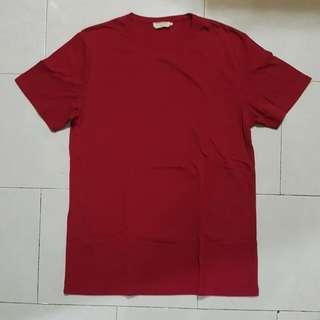 ZALORA MEN Red T Shirt