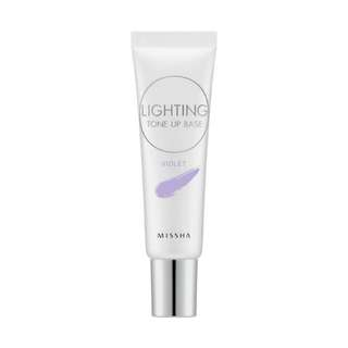 BNIB Missha Lighting Tone Up Base (Violet)