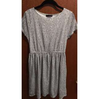 Pinky-grey Summer Dress