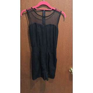 Black-net Playsuit
