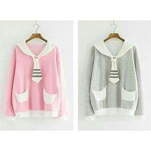A0543 pocket sweter