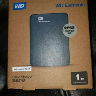 Western Digital WD Elements Portable 1TB