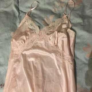 全新淺粉紅色睡衣