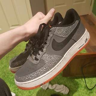 Nike Air Force 1 (Safari Print) US10
