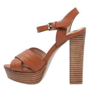 Dorothy Perkins GODDESS High Heel Tan Sandals Size 9