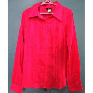 ON SALE! Fushcia polo shirt