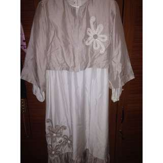 Gamis Putih Size 12