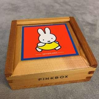 Pink Box Miffy Accessories Box