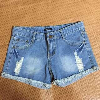 免運特價 東京購入 全新刷破短褲