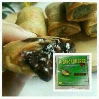Pisang Lumer Coklat