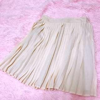 全新 Forever21 日本購入 百褶裙 粉色