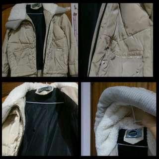 厚重冬季外套