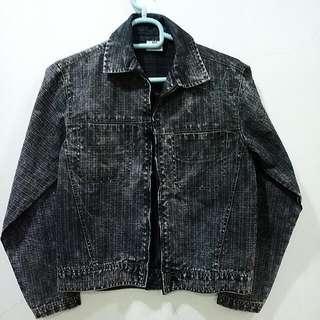Diesel Industry Jeans Checkered Jacket