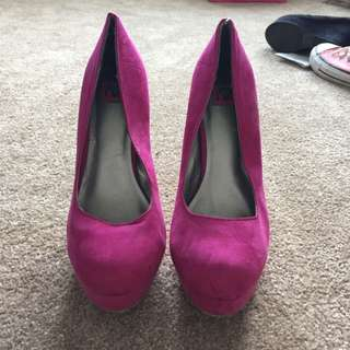 Pink Heels From Boathouse
