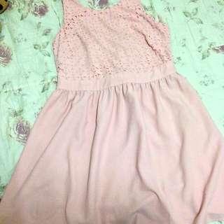 Pink Dress forever21