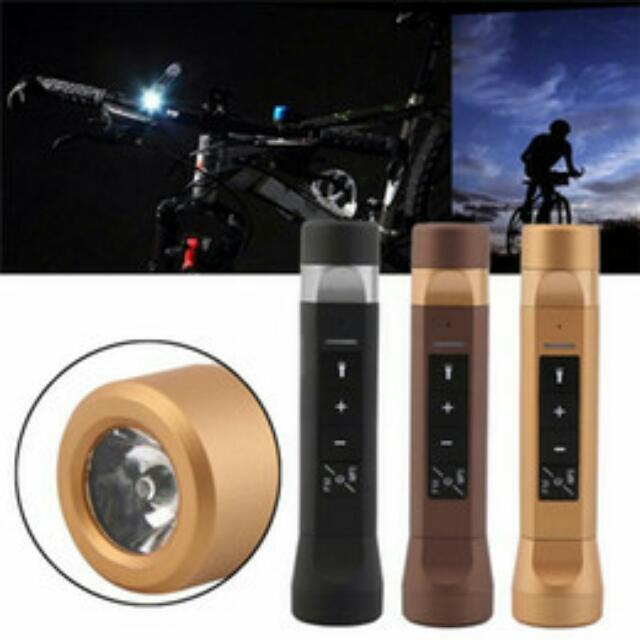 4 In 1 Bluetooth Speaker Torchlight Charger