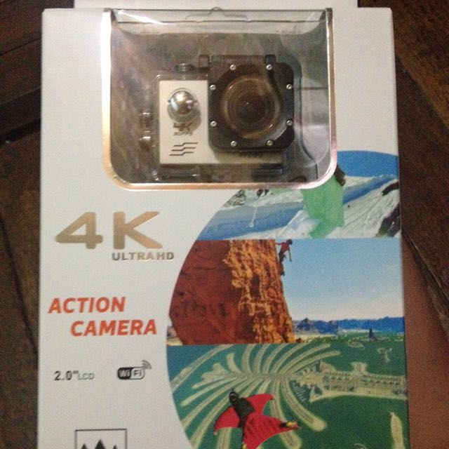 4k underwater camera