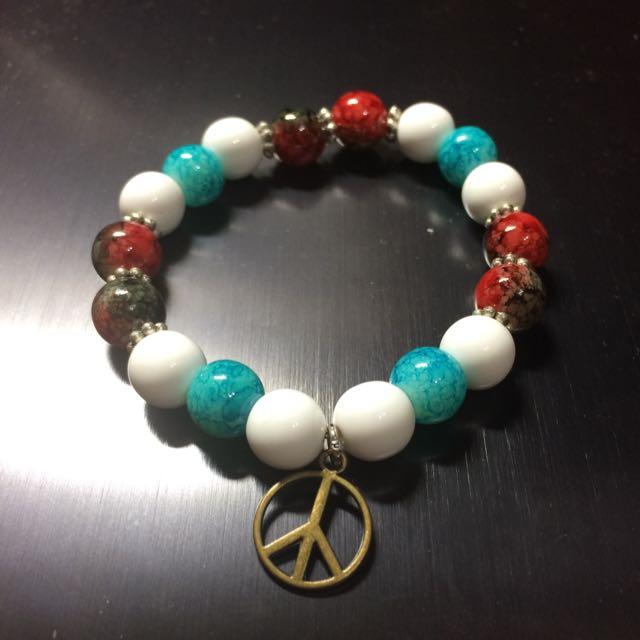 和平彩色珠鏈